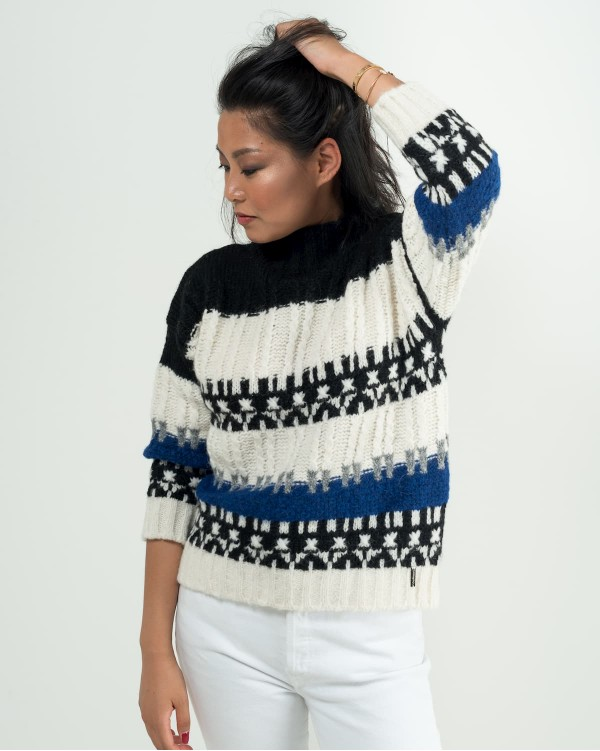 Nordic jacquard sweater