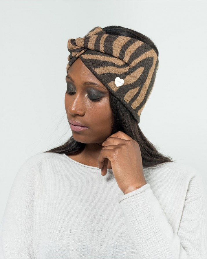 Zebra-striped Headband