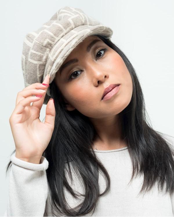 Geometric beret