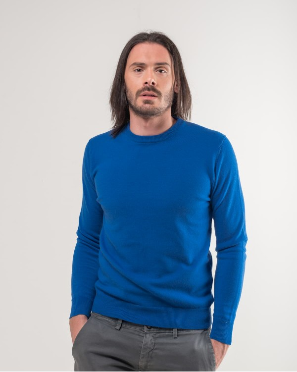 Light Blue Crewneck Sweater