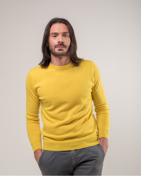 Yellow Crewneck Sweater