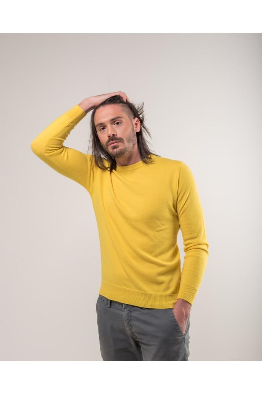 Yellow Crewneck Sweater