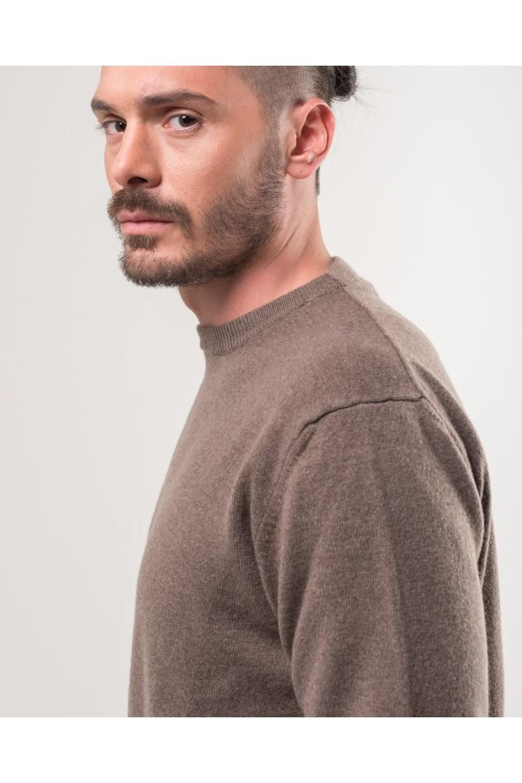 Brown Crewneck Sweater