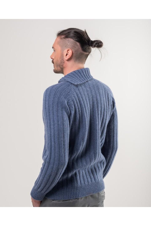 Light Blue Turtleneck Sweater