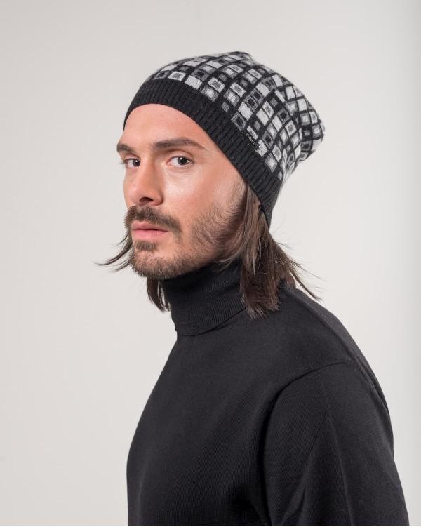 Checkered Rap Cap